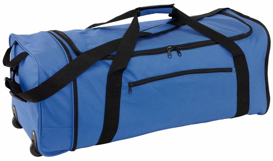 40cdd9497603 HEX összecsukható gurulós táska, kék-fekete