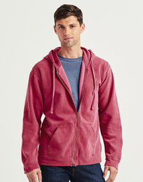 Comfort Colors Adult Full Zip Hooded Sweatshirt