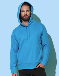 Stedman Active Bonded Fleece Hoody Men